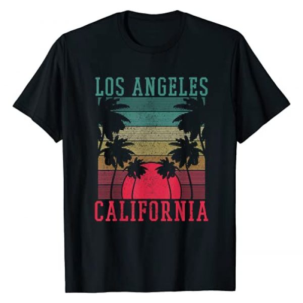 Los Angeles California Souvenirs Graphic Tshirt 1 Los Angeles California - Sunset Vintage LA Souvenir Gift T-Shirt
