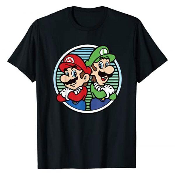 SUPER MARIO Graphic Tshirt 1 Nintendo Super Mario Luigi Back To Back Graphic T-Shirt T-Shirt