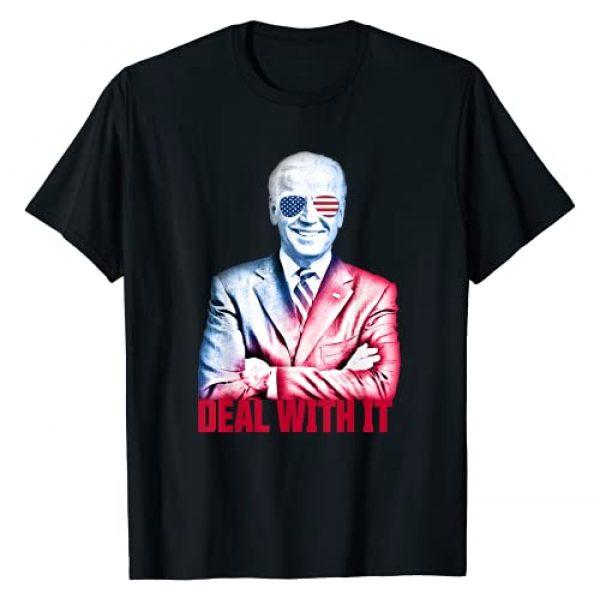 Love Biden Harris Shirts & Apparel Graphic Tshirt 1 President Joe Biden Deal With It Funny Biden Inauguration T-Shirt