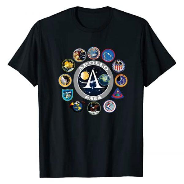 Nasa Nerds Graphic Tshirt 1 NASA Apollo Missions T-Shirt