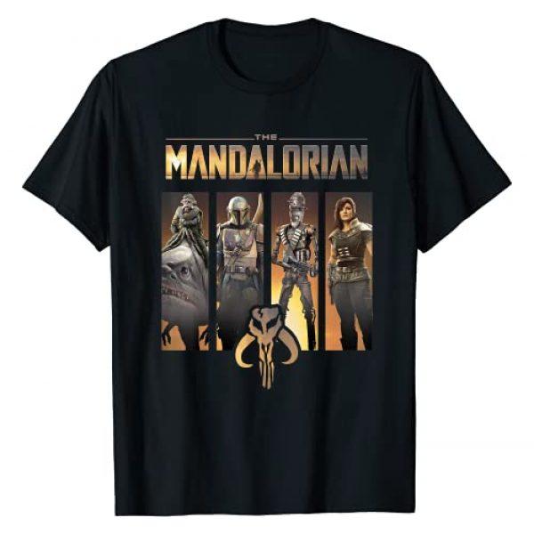STAR WARS Graphic Tshirt 1 The Mandalorian Group Line Up T-Shirt