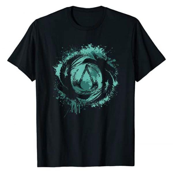 Assassin's Creed Graphic Tshirt 1 Valhalla Paint Splatter Logo T-Shirt