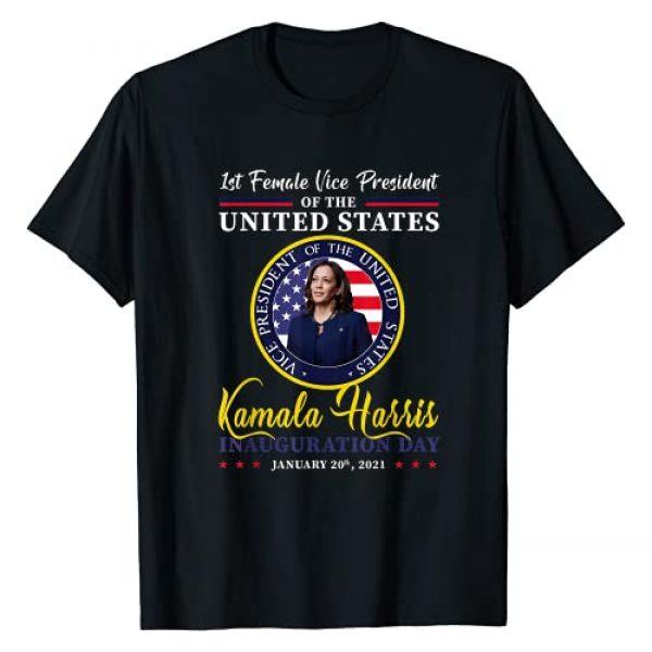 Biden 2021 and Harris Inauguration day gift Graphic Tshirt 1 President Joe Biden 2021 and VP Harris Inauguration Day T-Shirt