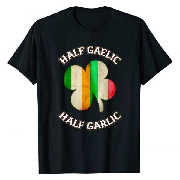 Funny Irish T Shirts For Men Women Kids Gift Co. Graphic Tshirt 1 Irish Shirts For Women Italian Case Mens St Patrick's Day T-Shirt