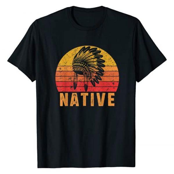 Native American CG Tees Graphic Tshirt 1 Native American Pride Vintage Native Indian T-Shirt