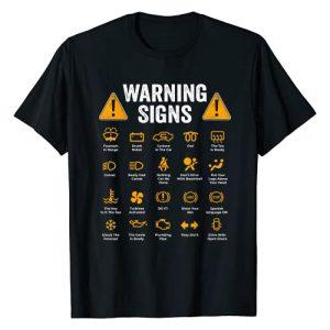 I am a mechanic I fix things Graphic Tshirt 1 Funny Driving Warning Signs 101 Auto Mechanic Gift Driver T-Shirt