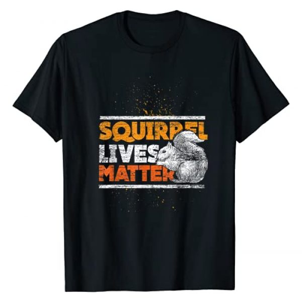 Squirrel Lives Matter T-Shirt Graphic Tshirt 1 Vintage Squirrel Lives Matter T-Shirt