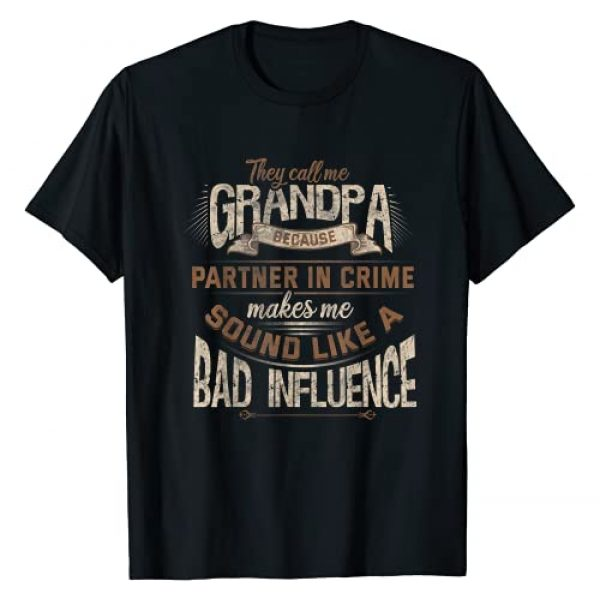 Grandfather Novelty Stuff and More Graphic Tshirt 1 Funny Grandpa Shirt Birthday Christmas Gift for Grandad T-Shirt