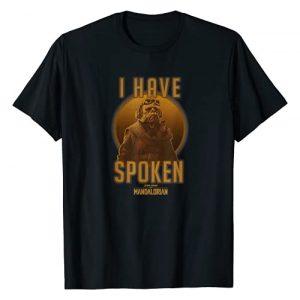 Star Wars Graphic Tshirt 1 The Mandalorian Kuiil I Have Spoken Circle T-Shirt