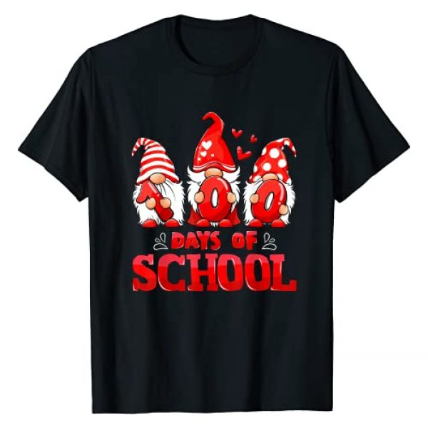 100 Days Of School Cute Gnomes Virtual Teacher Tee Graphic Tshirt 1 100 Days Of School Cute Gnomes Virtual Learning Teacher Kids T-Shirt
