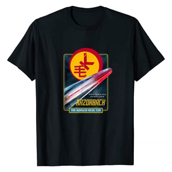 The Expanse Graphic Tshirt 1 Razorback Racing Team T-Shirt