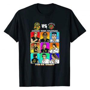 Cobra Kai Graphic Tshirt 1 8 Bit Character Box Up T-Shirt