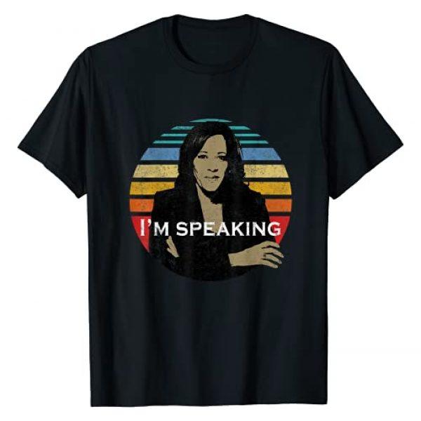 Vice President Kamala Harris Biden Harris 2020 Graphic Tshirt 1 Vice President Kamala Harris I'm Speaking Biden Harris 2020 T-Shirt