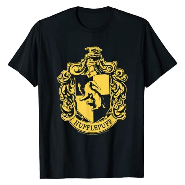 Harry Potter Graphic Tshirt 1 Hufflepuff Simple House Crest T-Shirt