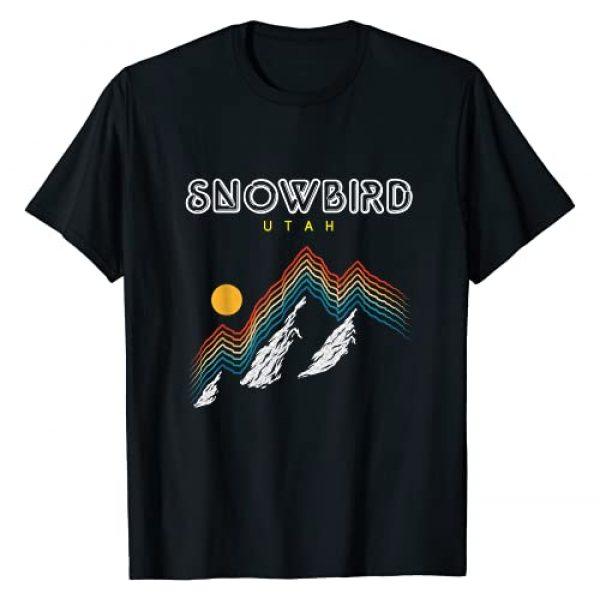 Snowbird Utah - American Ski Gift T Shirts Graphic Tshirt 1 Snowbird Utah - USA Ski 1980s Retro Shirt T-Shirt