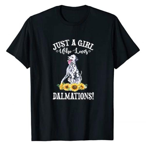 Dalmation Dog Gift Shirts & Hoodies Graphic Tshirt 1 Dalmation T-Shirt