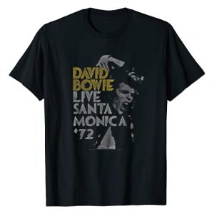 David Bowie Graphic Tshirt 1 Live '72 T-Shirt