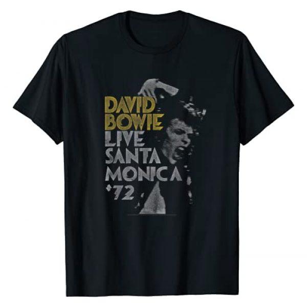 David Bowie Graphic Tshirt 1 Live '72 T-Shirt