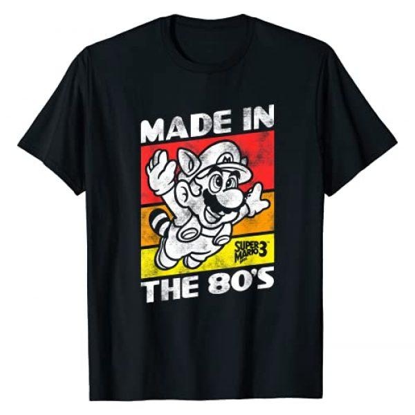 SUPER MARIO Graphic Tshirt 1 Nintendo Super Mario 3 Made In The 80's Retro T-Shirt T-Shirt