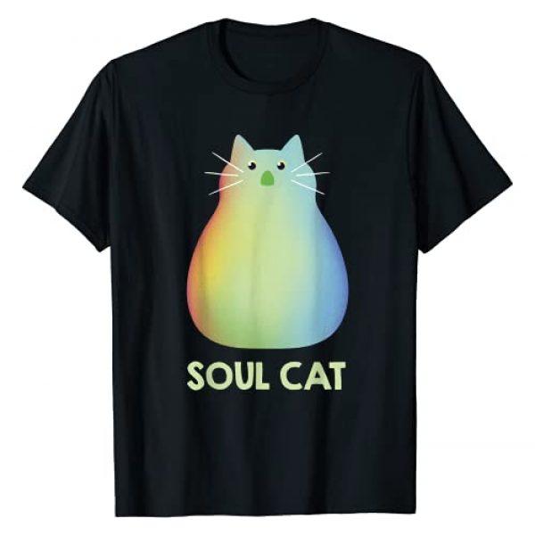 Disney Graphic Tshirt 1 Pixar Soul Cat Portrait T-Shirt