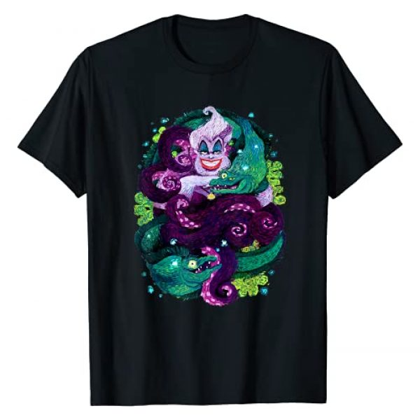 Disney Graphic Tshirt 1 The Little Mermaid Ursula Sea Witch Painting T-Shirt