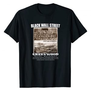 TheBlackest Co. Graphic Tshirt 1 Black Wall Street - Vintage History Before And After Photos T-Shirt