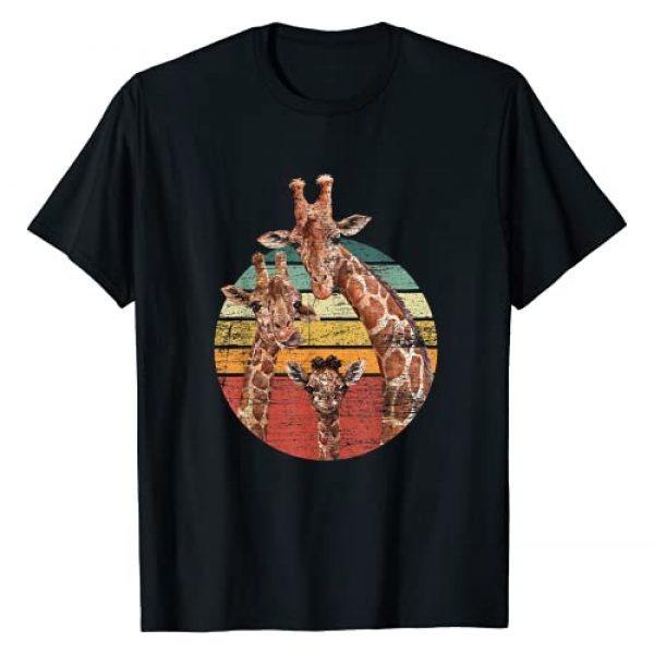 Zoo Keeper Africa Animal Safari Gift Idea Giraffe Graphic Tshirt 1 Animal Lover Family African Safari Giraffe T-Shirt