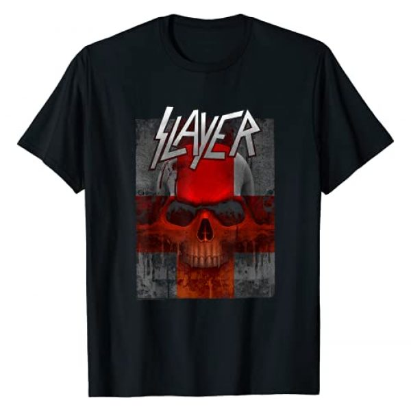 Slayer Official Graphic Tshirt 1 Slayer - Bloody Flag T-Shirt