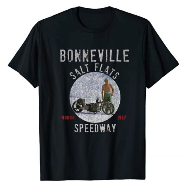 The Dirty Gringo Graphic Tshirt 1 Vintage Bonneville Salt Flats Distressed 1967 Munro Fastest T-Shirt