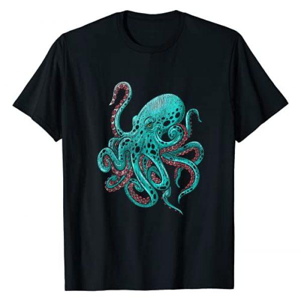 Octopus Tees Graphic Tshirt 1 Kraken Octopus T-Shirt