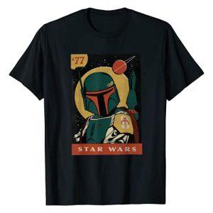 Star Wars Graphic Tshirt 1 Boba Fett Vintage Trading Card '77 Graphic T-Shirt T-Shirt