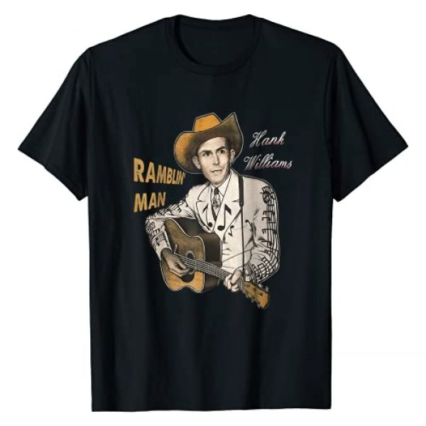Retro Hank Shirt Williams Graphic Tshirt 1 Graphic Hank Shirts Williams Country Music Gifts For Fans T-Shirt
