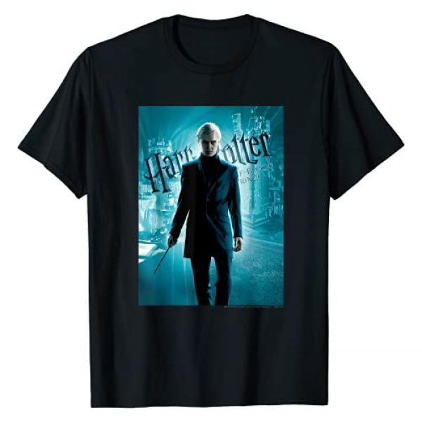 Harry Potter Graphic Tshirt 1 Half-Blood Prince Draco Malfoy Character Poster T-Shirt