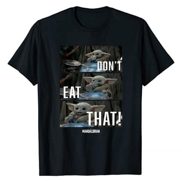 Star Wars Graphic Tshirt 1 The Mandalorian The Child Don't Eat That R2 T-Shirt