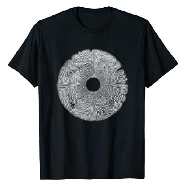 Mushroom Shirt Mushroom lover gift Graphic Tshirt 1 Mushroom Spore Print T-shirt Mushroom Gift T-Shirt