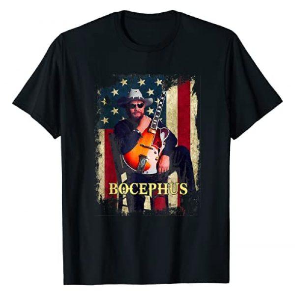 Bocephus Retro Hank Jr Tee Williams Love Music Graphic Tshirt 1 Flag America T-Shirt