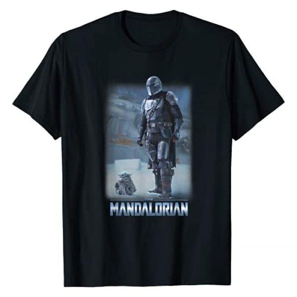 STAR WARS Graphic Tshirt 1 The Mandalorian & The Child Icy Portrait R12 T-Shirt