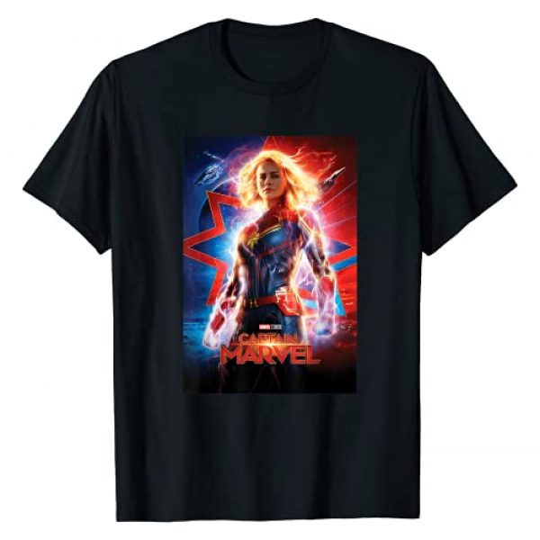 Marvel Graphic Tshirt 1 Captain Marvel Suited Up Poster T-Shirt
