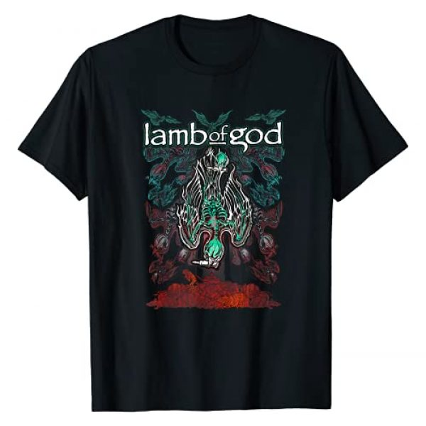 Lamb of God Official Graphic Tshirt 1 Lamb of God - Ashes of The Wake T-Shirt