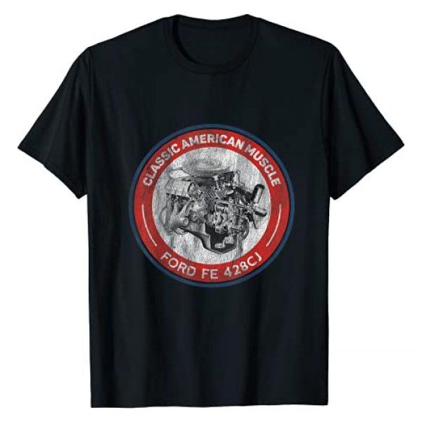 The Dirty Gringo Graphic Tshirt 1 American Muscle Car FE 428 Cobra Jet Retro Engine TShirt T-Shirt