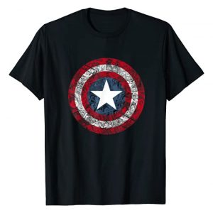 Marvel Graphic Tshirt 1 Captain America Avengers Shield Comic Graphic T-Shirt T-Shirt