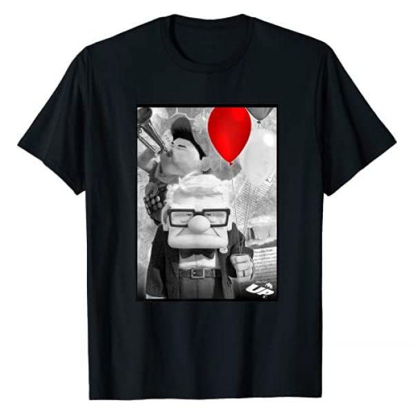 Disney Graphic Tshirt 1 Pixar UP Carl Russell Trumpet Red Balloon T-Shirt T-Shirt