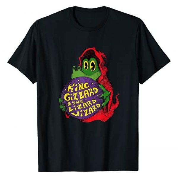 King Funny Gizzard The Lizard Graphic Tshirt 1 Gift Wizard T-Shirt