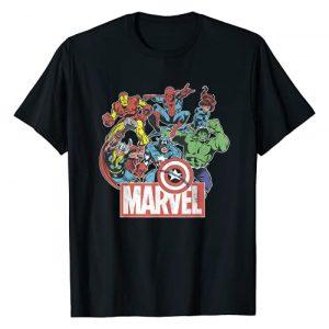 Marvel Graphic Tshirt 1 Avengers Team Retro Comic Vintage Graphic T-Shirt T-Shirt