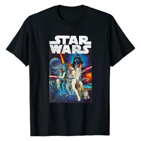 Star Wars Graphic Tshirt 1 Vintage Cast Poster T-Shirt