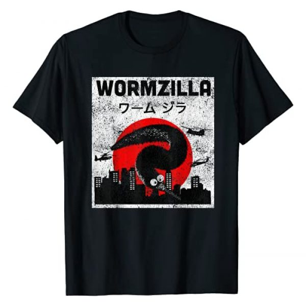 Magic Fuzzy Worm on a String Graphic Tshirt 1 Worm on a String Meme, Japanese Fuzzy Magic Worms, Wormzilla T-Shirt
