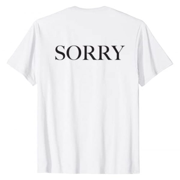 Justin Bieber Graphic Tshirt 2 Official Purpose Tour B&W Sorry Back T-Shirt