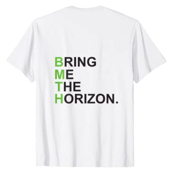 Bring Me The Horizon Graphic Tshirt 2 Green Girl - Official Merchandise T-Shirt