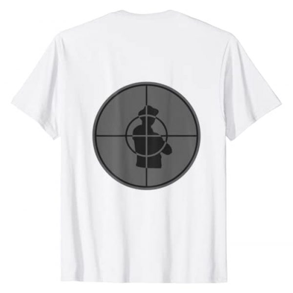 Public Enemy Graphic Tshirt 2 Official Enemy Target T-Shirt