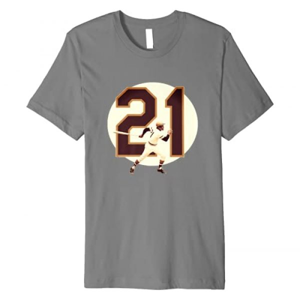 710 Shirts Graphic Tshirt 1 Tribute to Clemente Premium T-Shirt